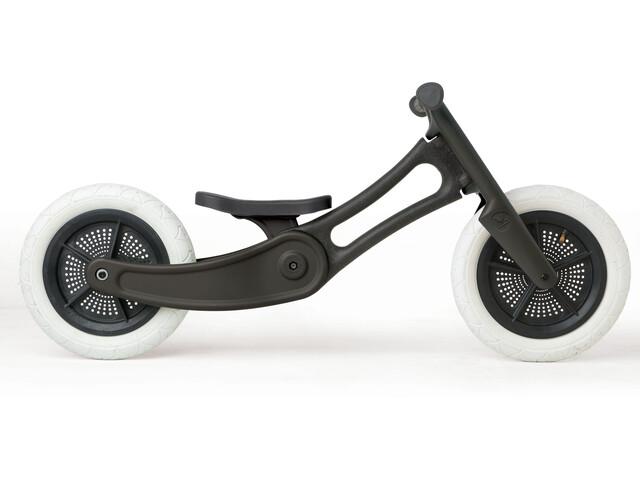 Wishbone 2 in 1 Design Bike Løbecykel Børn Recycled Edition sort | Learner Bikes